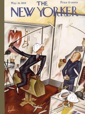 The New Yorker Cover - May 26, 1934 by Constantin Alajalov