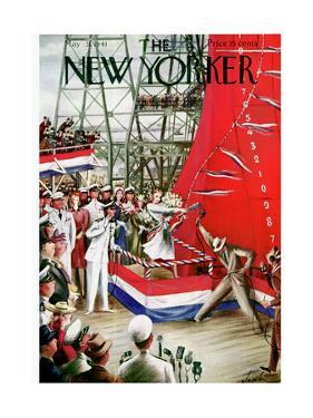 The New Yorker Cover - May 31, 1941 by Constantin Alajalov