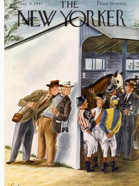 The New Yorker Cover - May 31, 1947 by Constantin Alajalov