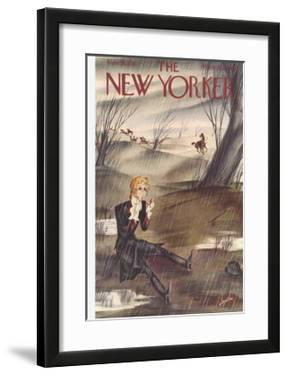 The New Yorker Cover - November 28, 1936 by Constantin Alajalov