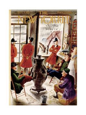 The New Yorker Cover - November 8, 1952 by Constantin Alajalov