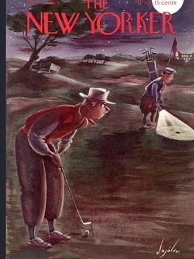 The New Yorker Cover - October 1, 1938 by Constantin Alajalov