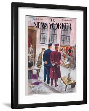 The New Yorker Cover - September 27, 1941 by Constantin Alajalov