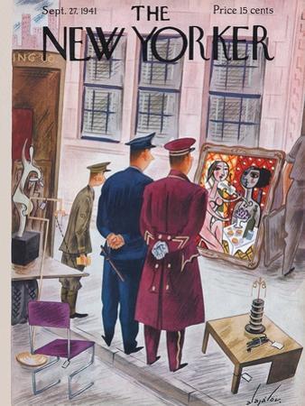 The New Yorker Cover - September 27, 1941 by Constantin Alajalov