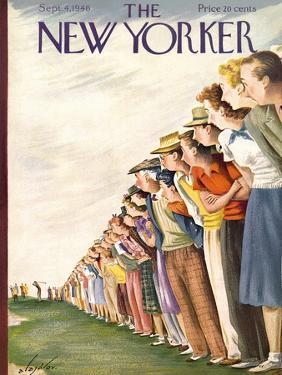 The New Yorker Cover - September 4, 1948 by Constantin Alajalov