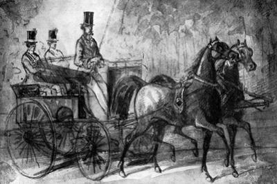 A Dandy Driving, 19th Century