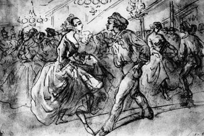 At the Dance, 19th Century
