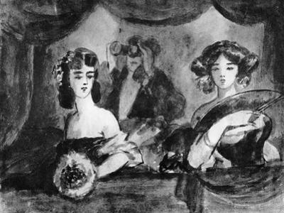 At the Theatre, 19th Century