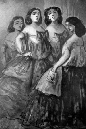 Four Girls, 19th Century