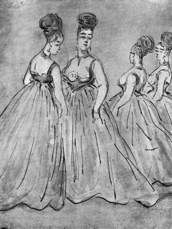 Four Ladies, 19th Century