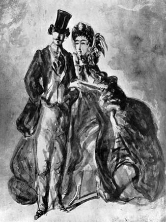 Man and Woman, 19th Century
