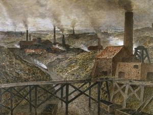 In the Black Country, Ca. 1893 by Constantin Meunier