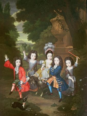 Portrait of the Children of Francisco Lopez-Suasso