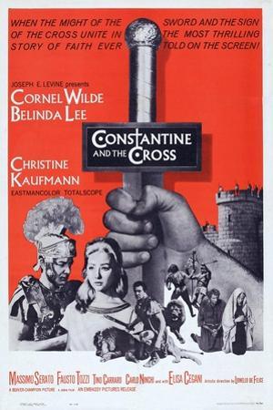 Constantine and the Cross, L-R: Cornel Wilde, Christine Kaufmann, 1961