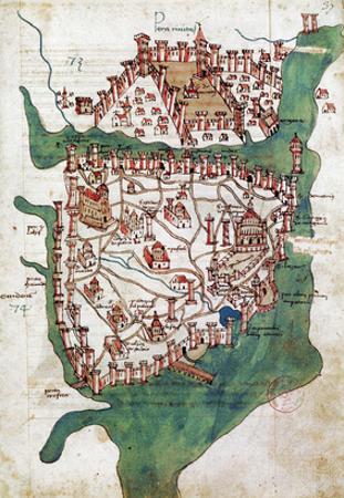 Constantinople, 1420