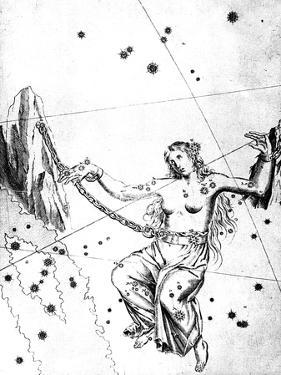 Constellation of Andromeda, 1723