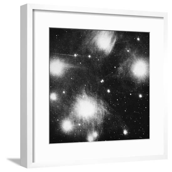 Constellation of the Pleiades (Seven Sister), 1908--Framed Giclee Print