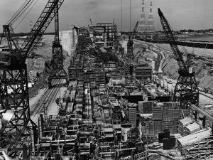 Constructing the St. Lawrence Seaway