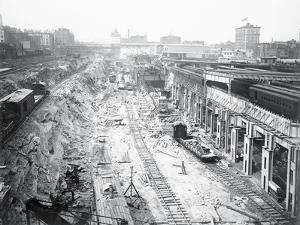 Construction of Grand Central Station