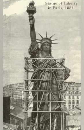 Construction of the Statue of Liberty