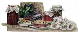Berries and Apple Pie by Consuelo Gamboa