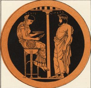 Consulting an Oracle in Ancient Greece