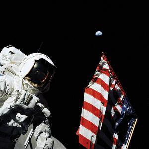 Apollo 17 - 1972 by Contemporary Photography