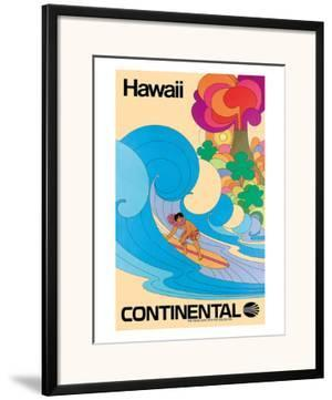 Continental Hawaii Surfer c.1960's