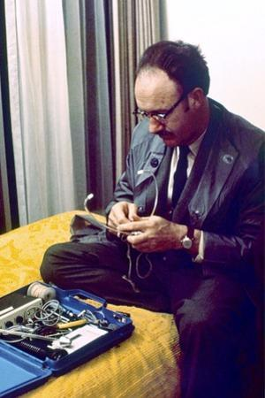 Conversation Secrete THE CONVERSATION by Francis Ford Coppola with Gene Hackman, 1974 (photo)