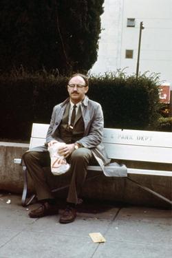 Conversation Secrete THE CONVERSATION by Francis Ford Coppola with Gene Hackman, 1974 (photo)