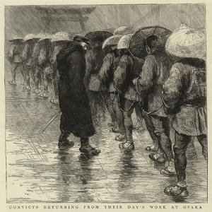 Convicts Returning from their Day's Work at Osaka