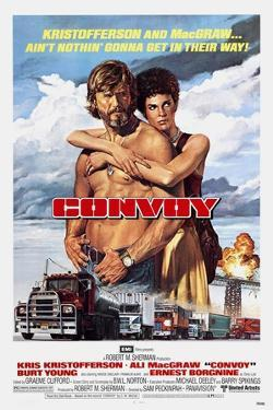 Convoy, Kris Kristofferson, Ali MacGraw, 1978. (c) United Artists/ Courtesy: Everett Collection