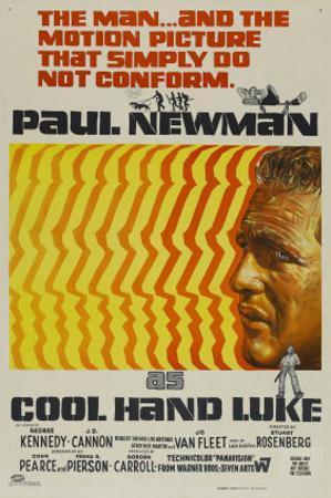 Cool Hand Luke, Australian Movie Poster, 1967