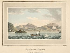 Bay of Maran, Martinique, Illustration from 'An Account of the Campaign in the West Indies' by… by Cooper Willyams