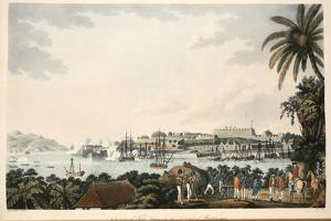N.E. View of Fort Louis in the Island of Martinique, Illustration from 'An Account of the… by Cooper Willyams