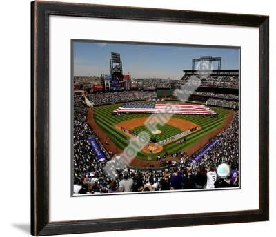 Coors Field 2008 Opening Day; Colorado Rockies