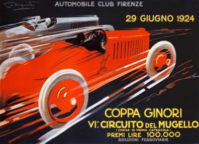Coppa Ginori, Auto Race, Florence