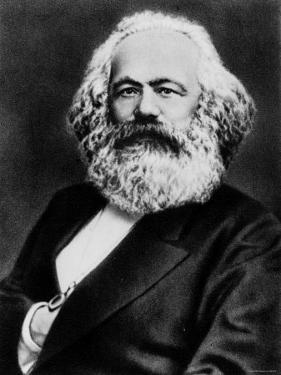 Copy from Photogravure of German Born Political Economist and Socialist Karl Marx