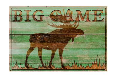 Big Game Moose by Cora Niele