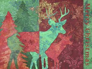 Christmas Deer by Cora Niele