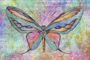 Colorful Butterfly by Cora Niele
