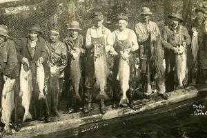 Fishermen Near Bellingham, Wa by Corbett