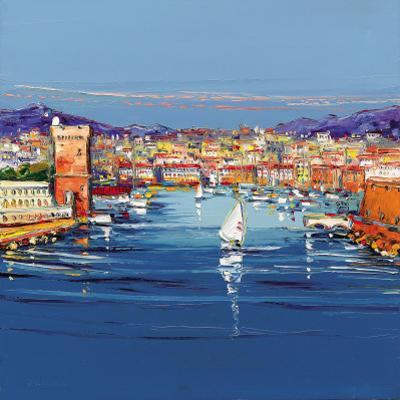 Vieux Port de Marseille by Corbiere