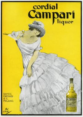 Cordial Campari Liquor