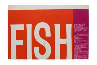 Fish by Corita Kent