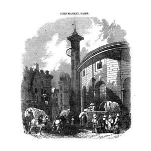 Corn-Market, Paris, 1836