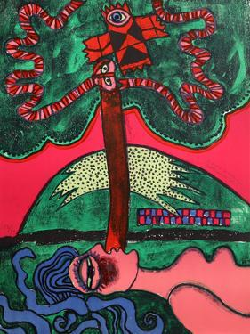 L'Arbre Extatique from Homage to Picasso by Corneille