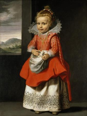 Portrait of the Artist's Daughter, Magdalena De Vos, C.1623-24 by Cornelis de Vos