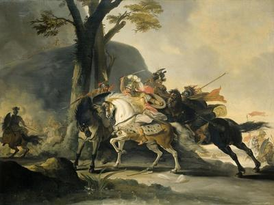 Alexander the Great at the Battle of the Granicus Against the Persians