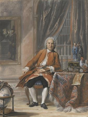 Portrait of Joan Jacob Mauricius, Governor-General of Suriname